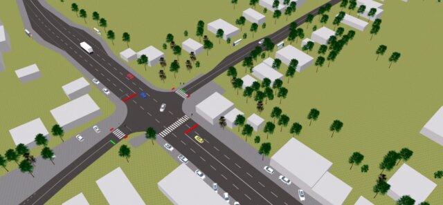 Поєднання транспортного мікромоделювання дорожнього руху з транспортним плануванням